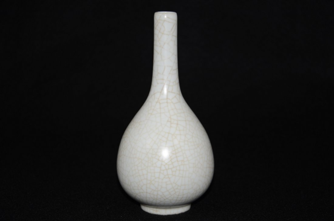 Chinese Song style Ge Kiln Vase - 2