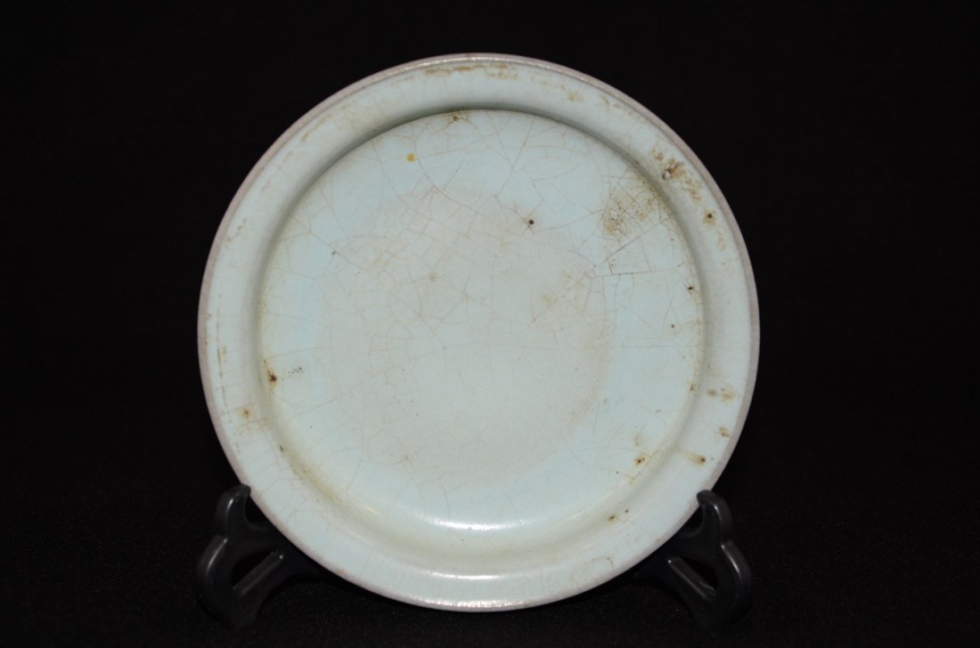 Vintage Chinese Song or later Qingbai glaze plate
