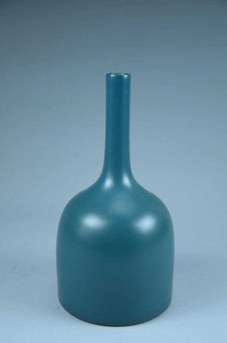 Marked, Fine Chinese Blue glazed vase