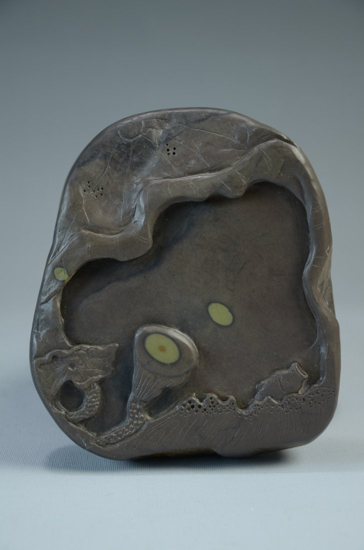 Well design Chinese ink stone