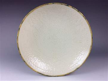 Important Fine Chinese Song Ding style, white glazed
