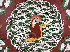 Rare 14th Century Ming Dynasty, Chinese Wucai glazed