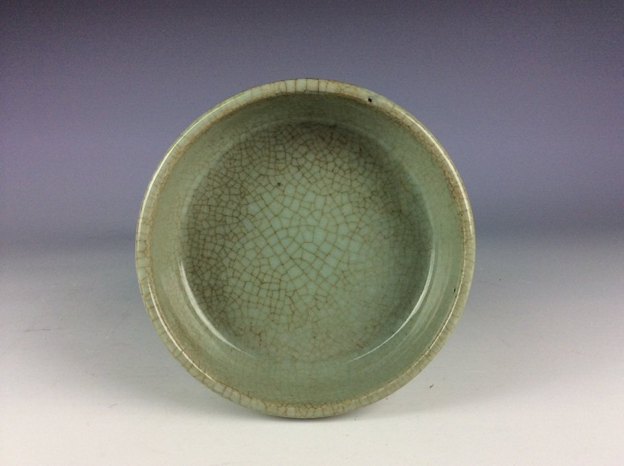 Rare Qing period, fine  Chinese porcelain censer, Guan - 5