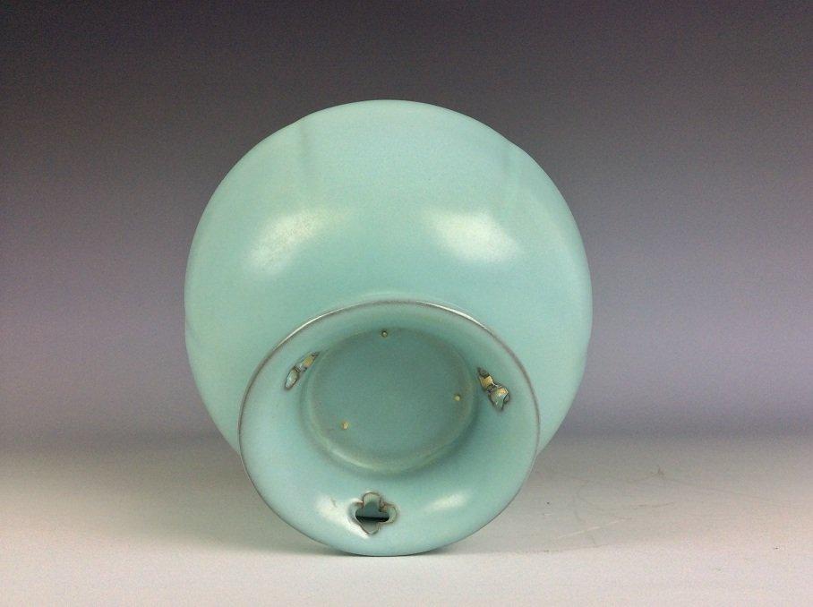 Song style Ru klin Chinese porcelain bowl, - 4