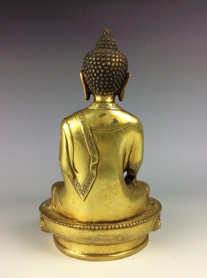 Chinese bronze Buddha - 3