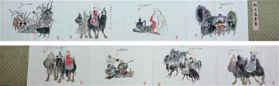 Chinese painting  Album, hand painted , ink and colors