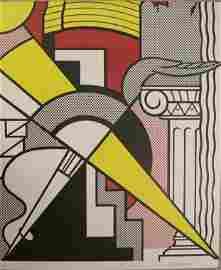 Lichtenstein Signed Stedelijk Museum lithograph