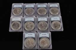 THE UNITED STATES SILVER COINS 10 PIECES W135