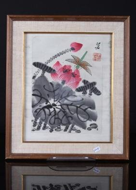 """[CHINESE] """"QI BAISHI"""" MARKED WATER PAINTING L:8.3"""""""