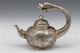 """[CHINESE] """"QIANLONG NIAN ZHI""""MARKED DRAGON PATTERN TEA"""