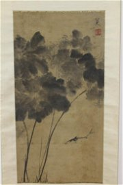 """[CHINESE]""""BA DA SHAN REN"""" MARKED PAINTING AND"""