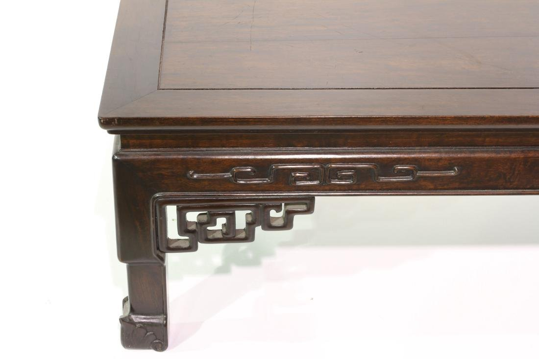 "[CHINESE]A ROSE WOOD TEA TABLE  L:40.5"" W:22.5"" H:16"" - 3"