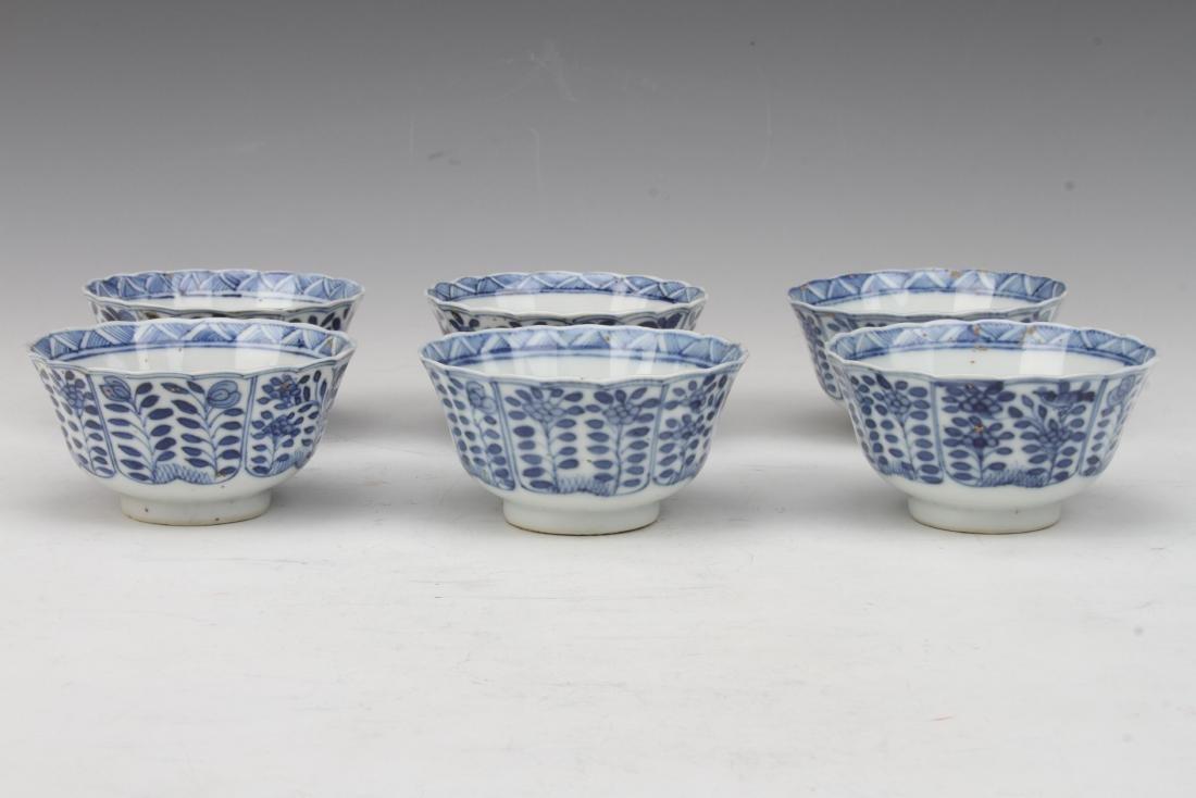 "[CHINESE]A SET OF""KANG XI NIAN ZHI""MARKED BLUE AND"
