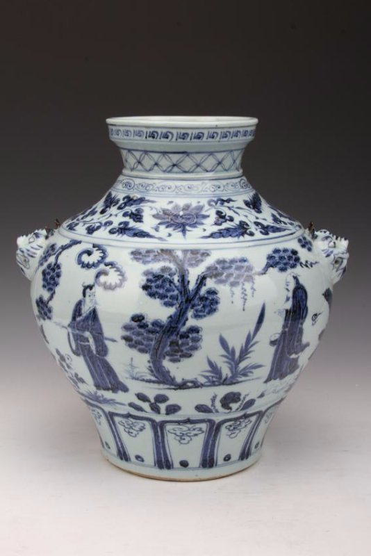 [CHINESE]MING DYNASTY STYLED BLUE AND WHITE PORCELAIN