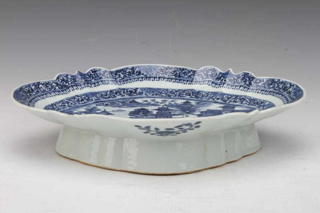 [CHINESE] QING DYNASTY STYLED BLUE AND WHITE PORCELAIN