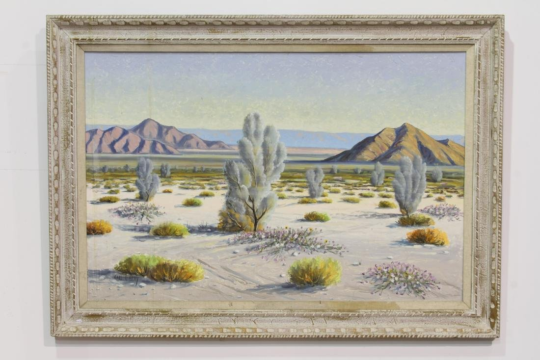 """A OIL PAINTING"""" PLAIN LANDSCAPE""""BY CARL G. BRAY"""