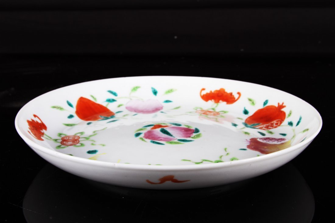 [CHINESE]A LATE 19TH CENTURY FAMILLE ROSE PORCELAIN