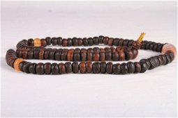 [CHINESE] LATE 19TH CENTURY CHENXIANG PRAYER BEADS WITH