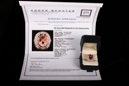 [CHINESE]A MORGANITE RING (WITH CERTIFICATE)