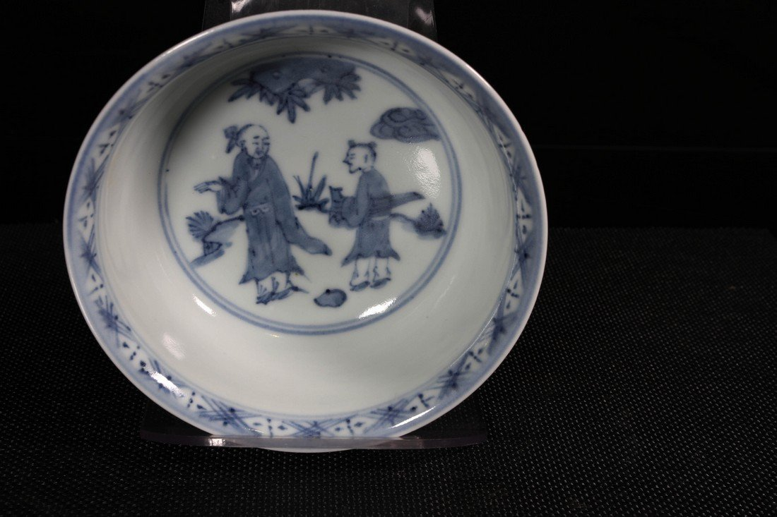 [CHINESE]A LATE 19TH CENTURY BLUE AND WHITE BOWL - 2