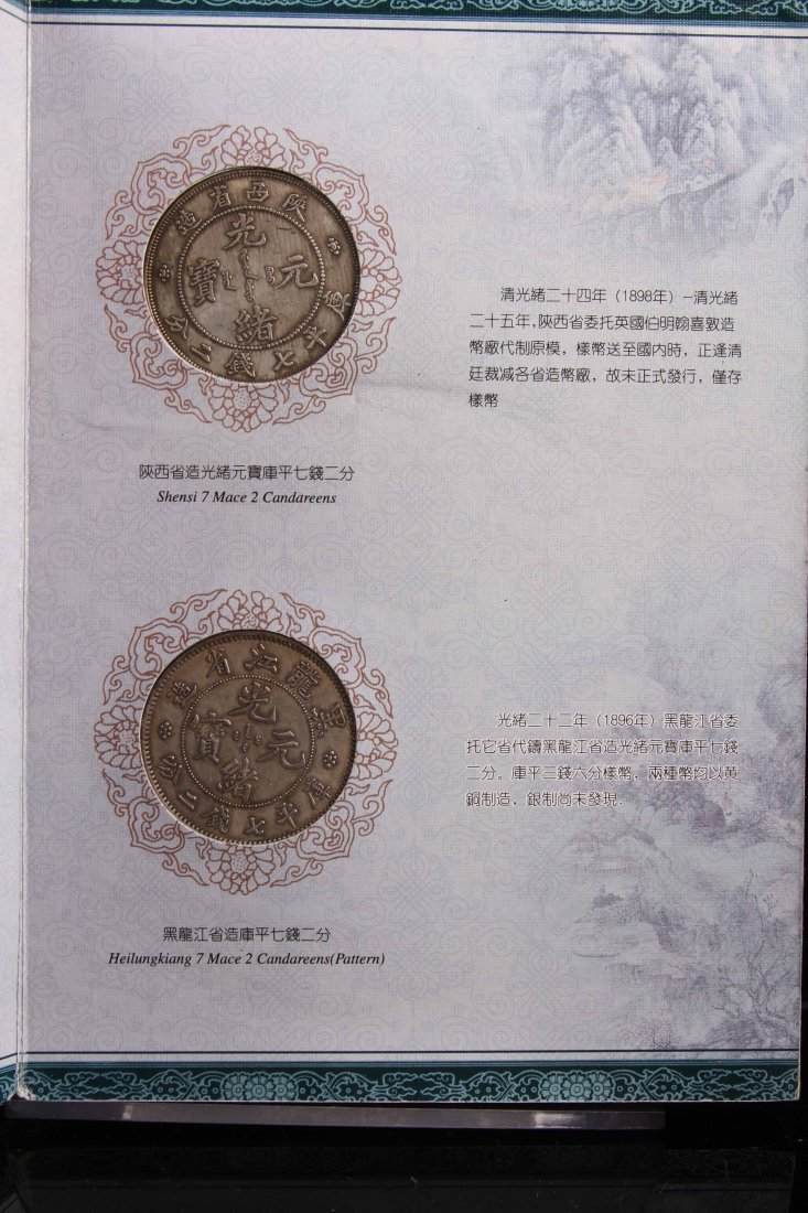 [CHINESE]A QING DYANSTY STYLED SILVER COIN ALBUM - 3