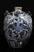 [CHINESE]A LATE 19TH CENTURY BLUE AND WHITE PORCELAIN