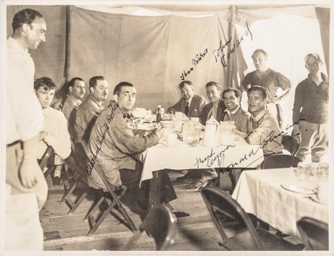1936 FRANK CAPRA Signed B&W Cast Photograph