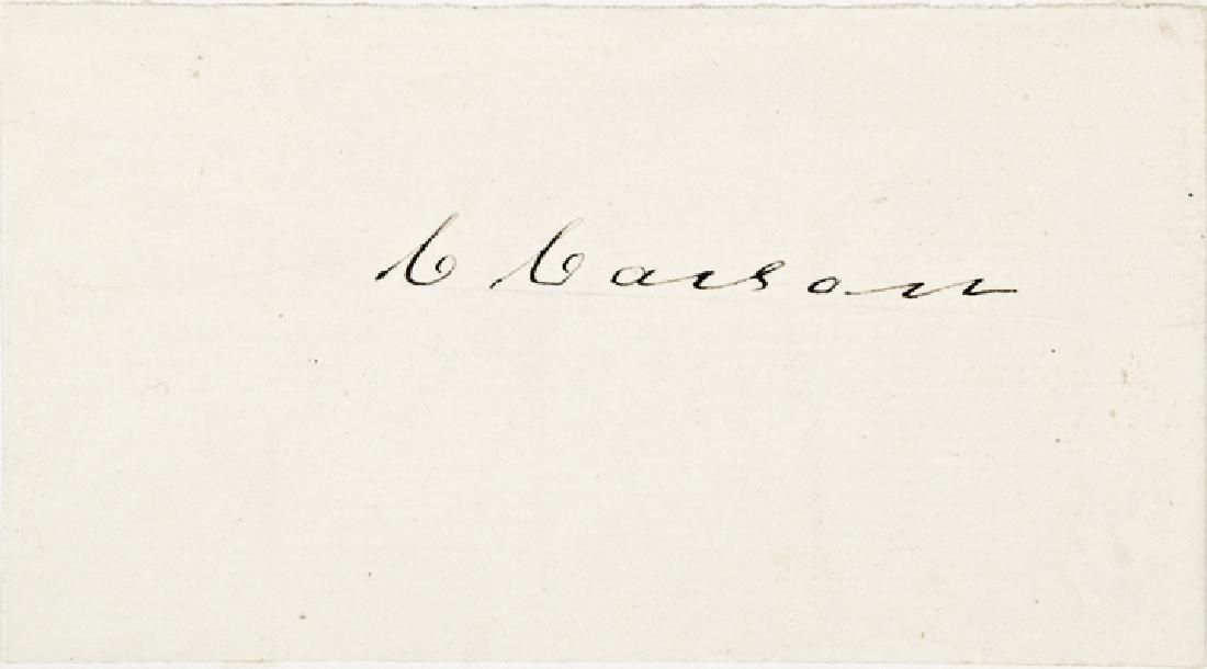 Rare Signature Card CHRISTOPHER - KIT - CARSON