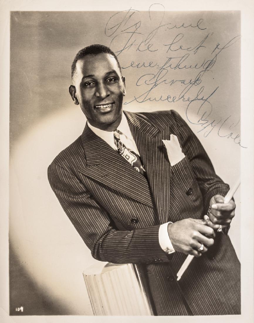 WILLIAM RANDOLPH COZY COLE Signed B&W Photograph