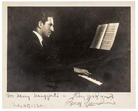 1930 GEORGE GERSHWIN Inscribed + Signed Photo