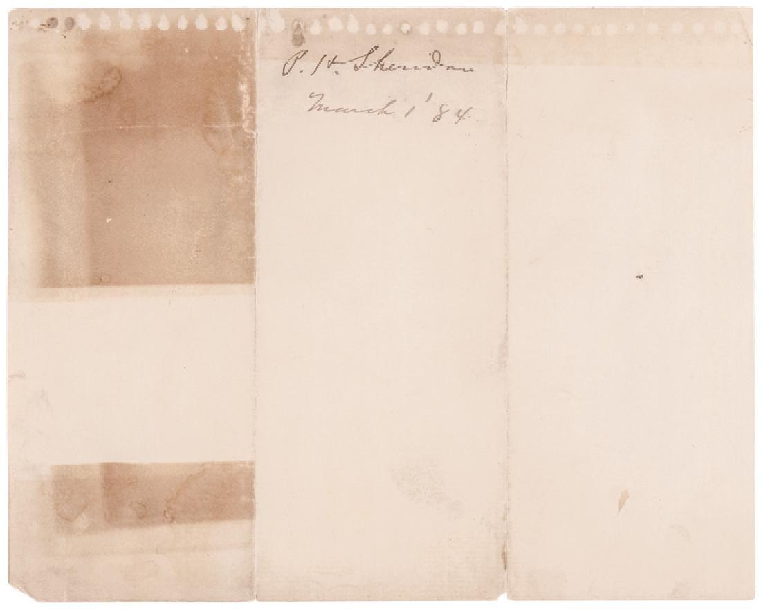 ULYSSES GRANT, GROVER CLEVELAND, PHILIP SHERIDAN - 2