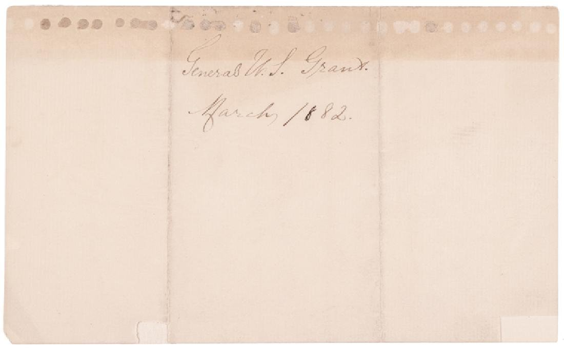 ULYSSES GRANT, GROVER CLEVELAND, PHILIP SHERIDAN - 6