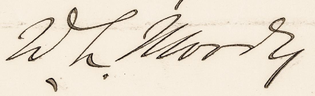 DWIGHT LYMAN D. L. MOODY Autograph Letter Signed - 3
