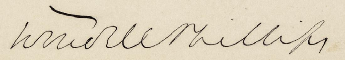 WENDELL PHILLIPS Autograph Quotation Signed - 3