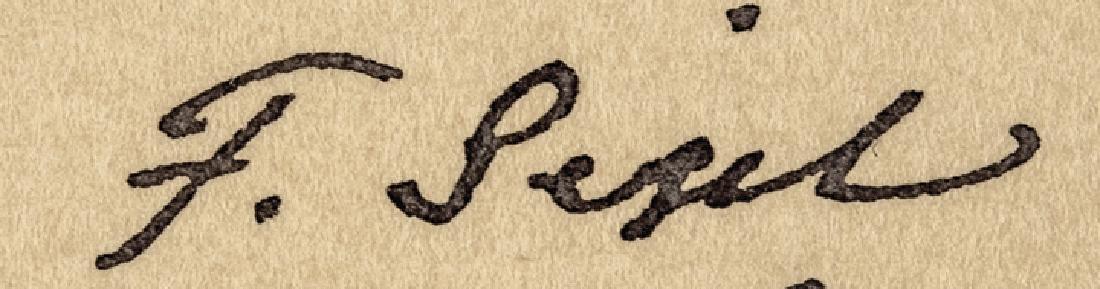 Maj. General FRANZ SIGEL Autograph Letter Signed - 3
