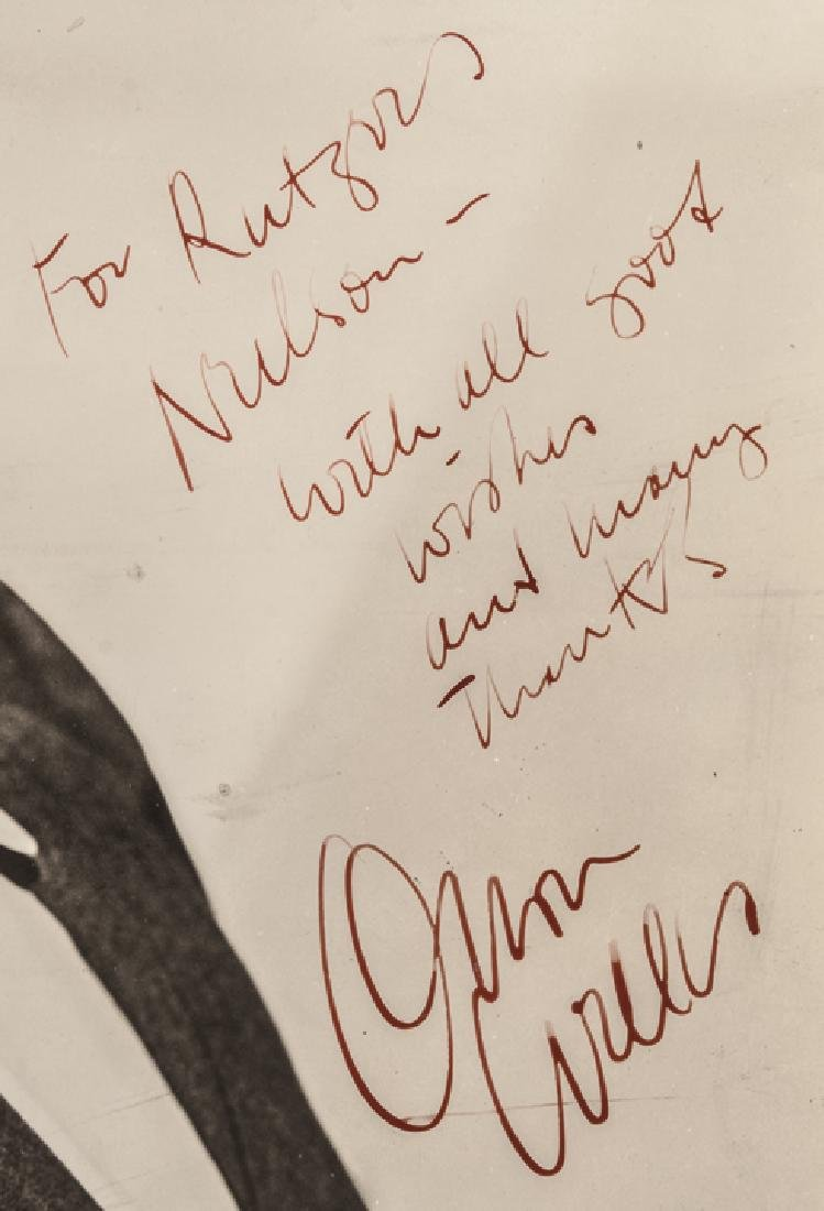 Gorgeous Inscribed + Signed ORSON WELLES Photo! - 2