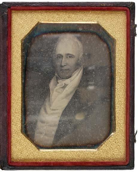 2011: (WILLAM CLARK), c. 1850, Daguerrotype Portrait