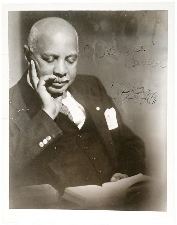2021: W.C. HANDY, Signed Photograph, 1949