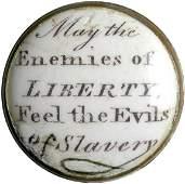2140: c.1775 Rare Anti-Slavery Battersea Box