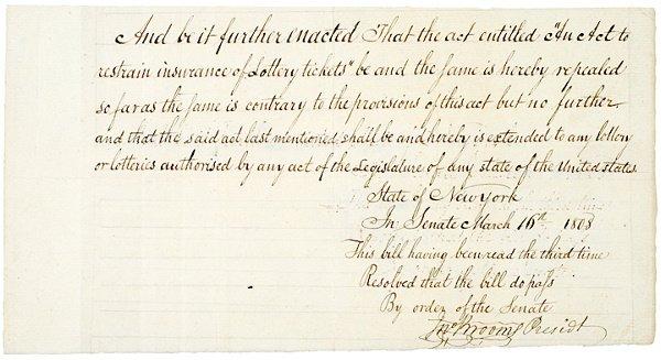 12: JOHN BROOME, Politician, Document Signed, 1808