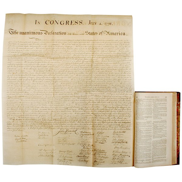 21: DECLARATION OF INDEPENDENCE, Peter Force Copy