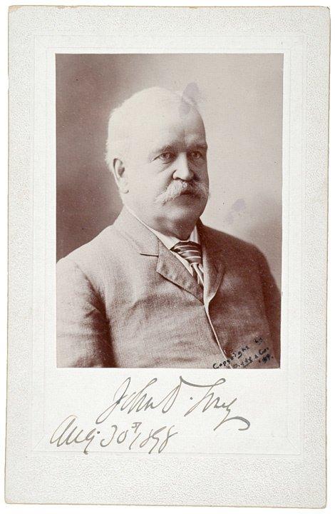 79: JOHN DAVIS LONG, Photograph Signed, 1898