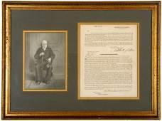 83: ALBERT GALLATIN, Signed Document, 1811