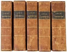208 Five Volume Life of George Washington c 1804