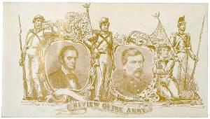 298: Civil War Cover of Lincoln and McClellan