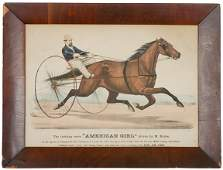380 1871 Currier  Ives Handcolored Print