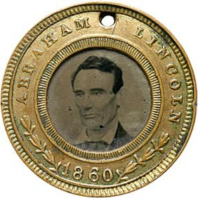 476: Abraham Lincoln and Hamlin Campaign Ferrotype