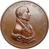 1098: (1817) James Monroe Indian Peace Medal