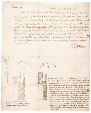 1799 THOMAS JEFFERSON Autograph Letter Signed !