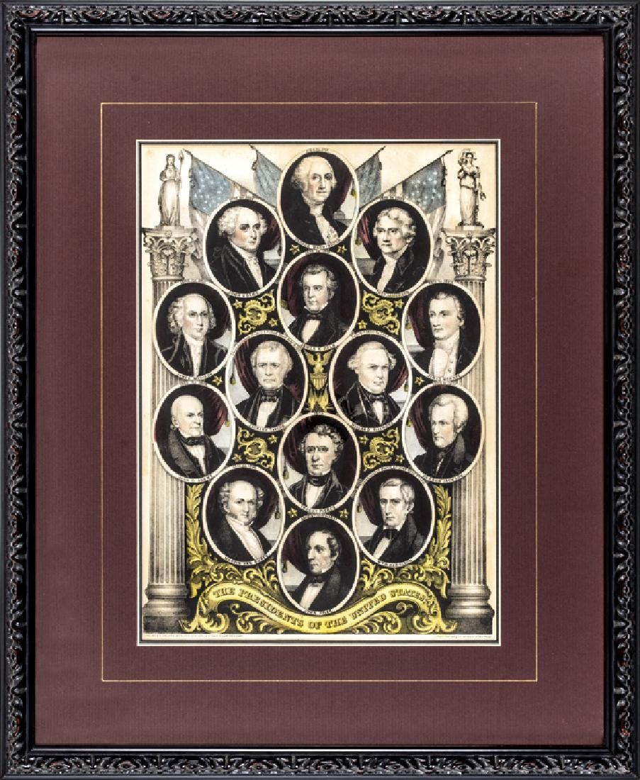 Lithograph: The Presidents of the United States